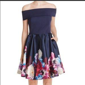 Ted Baker London Dresses - Ted Baker Nersi Dress TB 5 US 12 navy floral